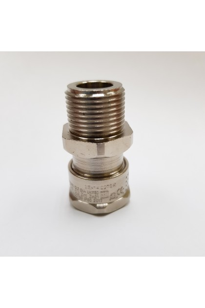 Brass Nickel Plated, Metric Entry of 501/421